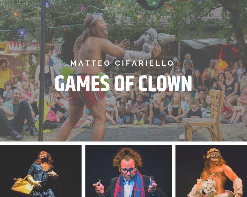 GAMES OF CLOWN-CANCELADO