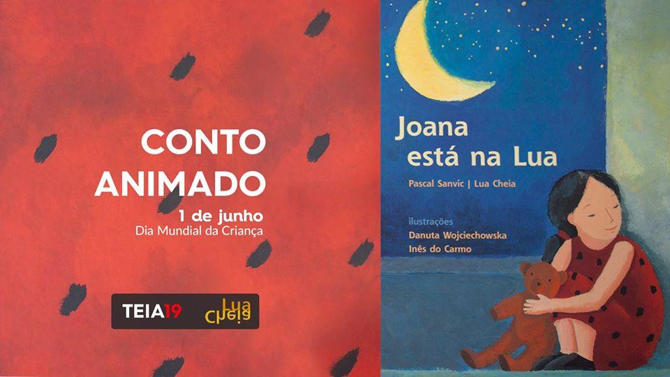 Joana está na Lua – Conto Animado